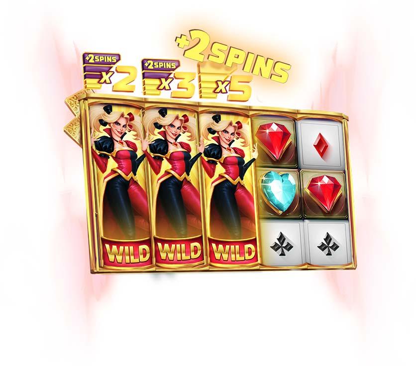 Wild Harlequin Slot Extra Spins