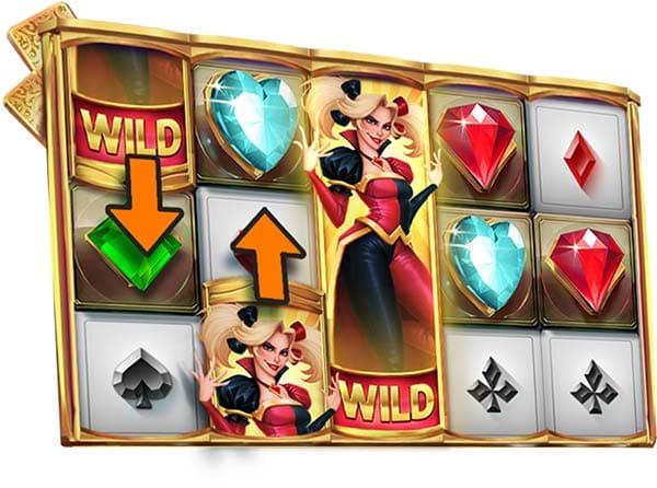 Wild Harlequin Slot Nudging Wilds